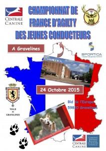 Championnat de France d'Agility des Jeunes Conducteurs 2015 @ Gravelines (Nord) | Gravelines | Nord-Pas-de-Calais | France