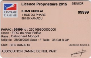 Licence CNEAC