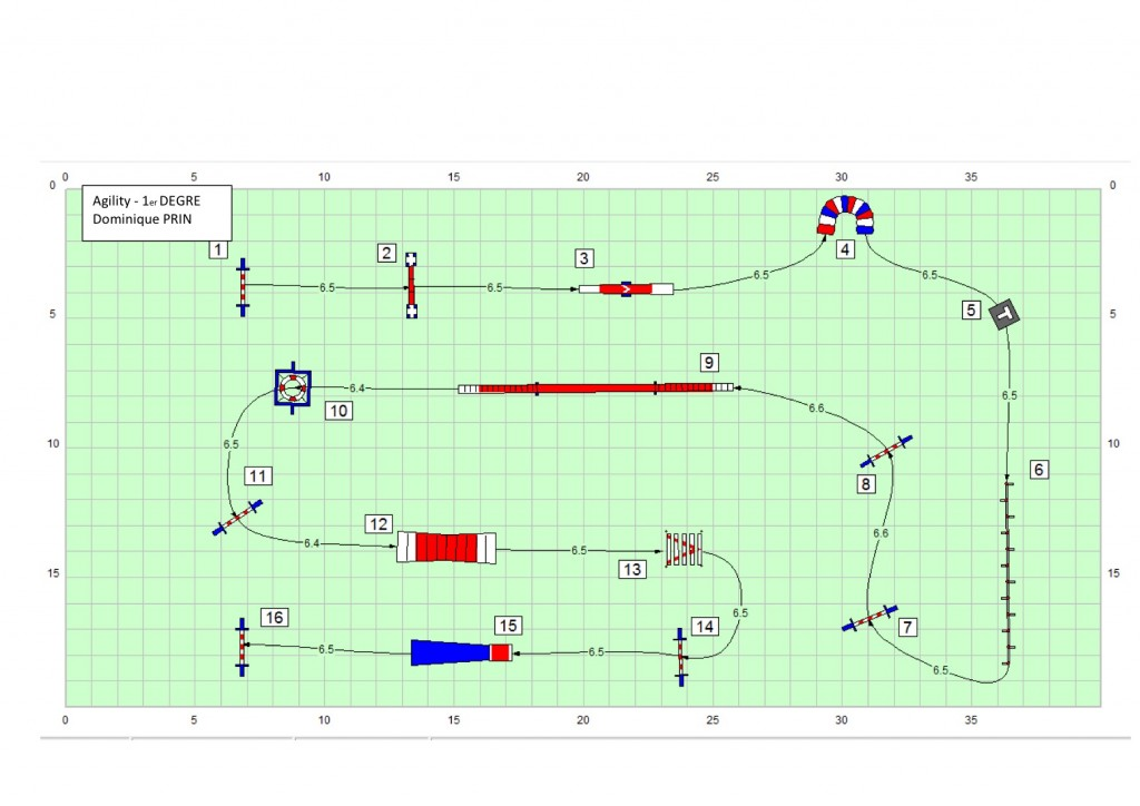Agility 1 - Parcours n°2