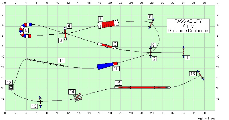 Agility 1 - Parcours n°6