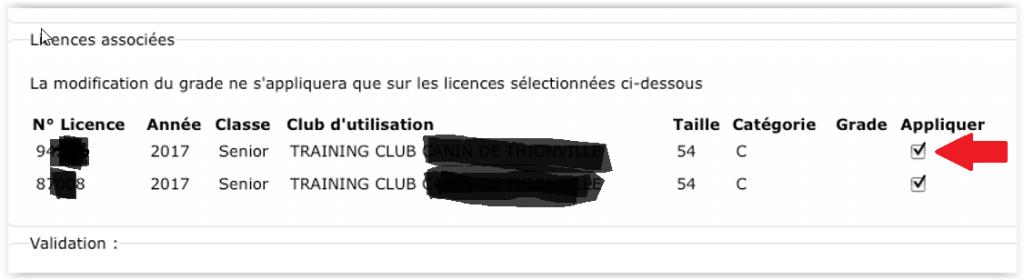 grade-licence