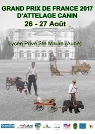 Grand Prix de France d'Attelage Canin 2017 @ Sainte-Maure (10150)