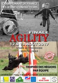 Championnat de France d'Agility des Jeunes Conducteurs 2017 @ Montélimar