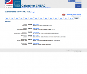 Calendrier Cneac 2021 Calendriers CAESC, pass, stages… – Commission Nationale Education