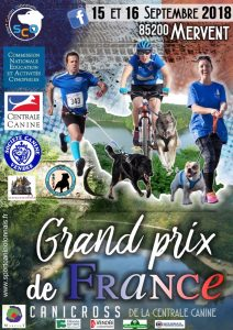 Grand Prix de France de Canicross 2018 @ Mervent (85200)
