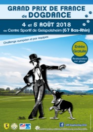 Grand Prix de France de Dog-Dancing Obérythmée 2018 @ Geispolsheim (67118)