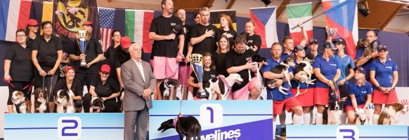Flyball Open World Cup 2018 – Podium division 1