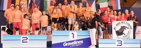 Flyball Open World Cup 2018 – Podium division 3