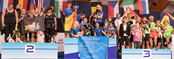 Flyball Open World Cup 2018 – Podium division 4