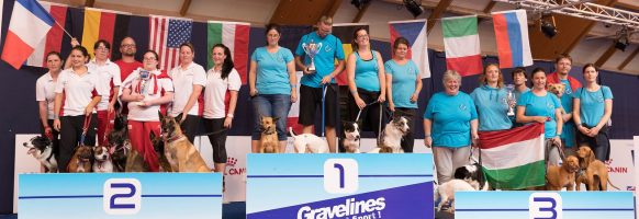 Flyball Open World Cup 2018 – Podium division 5