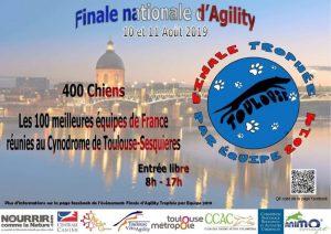 Trophée d'Agility par Équipes 2019 @ Cynodrome de Toulouse