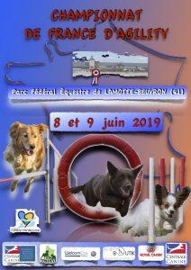 Championnat de France d'Agility 2019 @ Lamotte-Beuvron