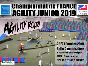 Championnat de France d'Agility Junior 2019 / 1er sélectif EO Junior 2020