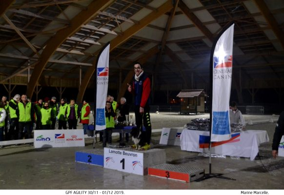 GPF agility 2019 – Vainqueur handi 3