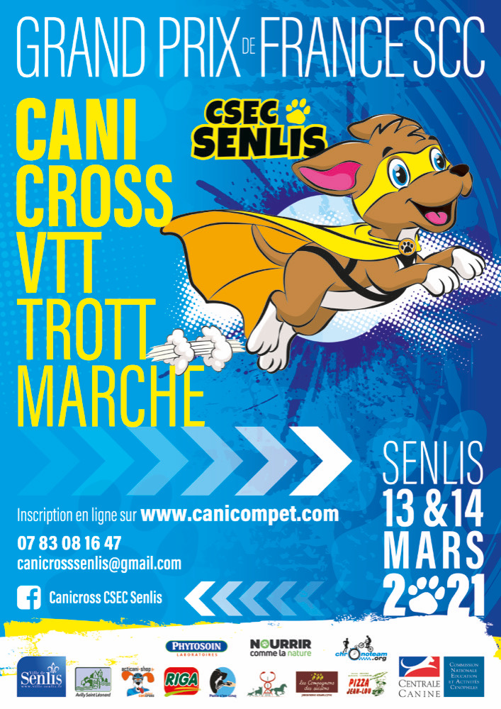 Calendrier Canicross 2021 Canicross – Commission Nationale Education et Activités Cynophiles